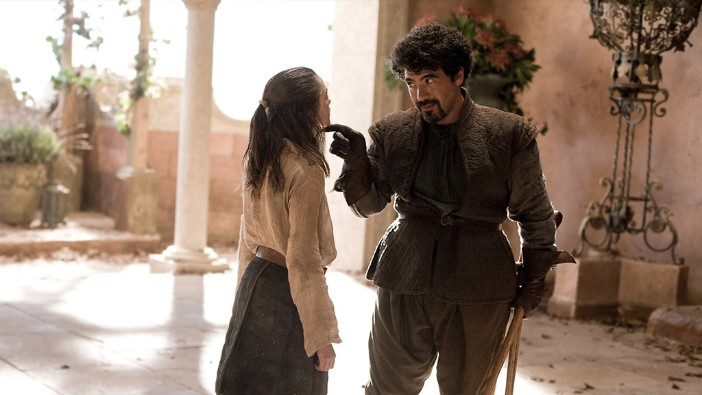 """Syrio and Arya """"Not Today"""" meme from Game Of Thrones / fitness myths"""
